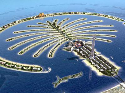Wyspa w Dubaju