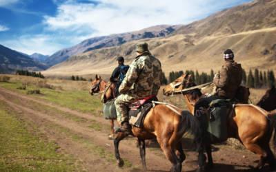 Tien Shan: turystyka Konna w Kazachstanie