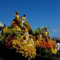 festiwal kwiatów w Maderze