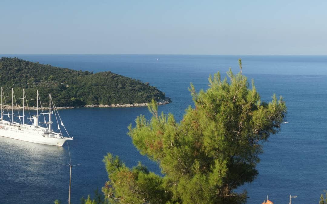 Dubrownik – okno z widokiem na Adriatyk