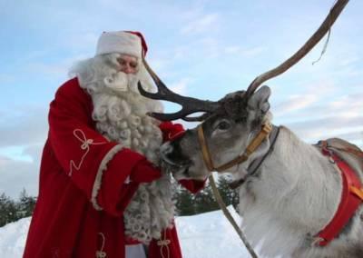 Laponia, święty Mikołaj