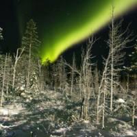Laponia, zorza polarna
