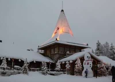 Laponia dom Mikołaja