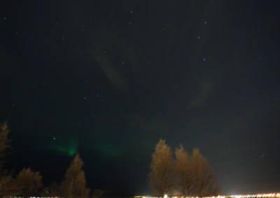 Laponia zorza polarna