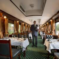 Rovos Rail, wagon restauracyjny