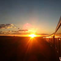 Rovos Rail zachód słońca