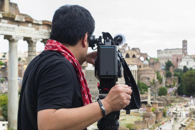 Teambuilding we Włoszech – kręcenie filmów