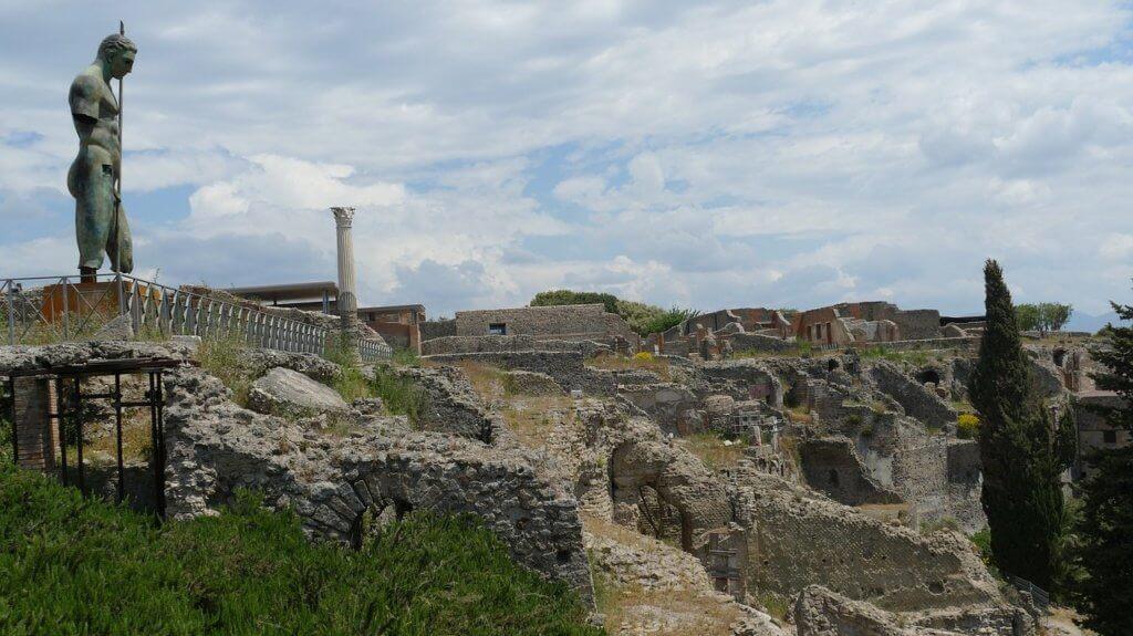 Pompeje, Włochy, pielgrzymka