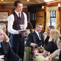 The Royal Scotsman wagon restauracyjny