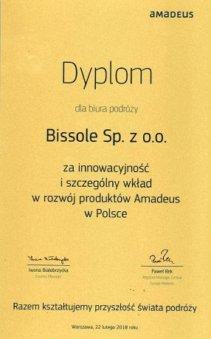dyplom Amadeus