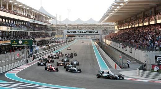 F1 Abu Zabi