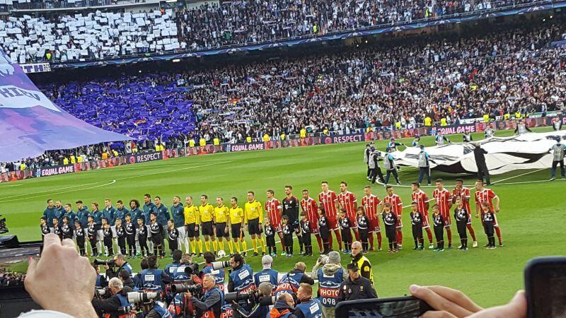 Madryt z meczem Ligii Mistrzów
