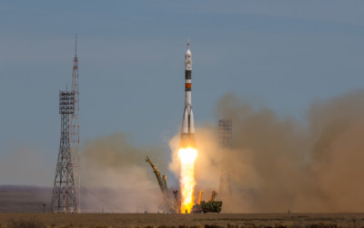 Start rakiety na Bajkonurze