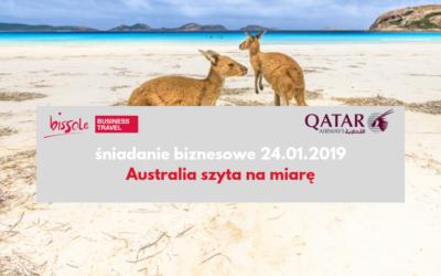 Śniadanie biznesowe – Australia szyta na miarę