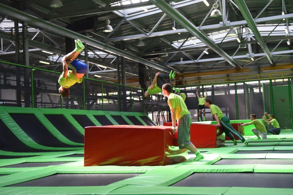 trampoliny wrocław